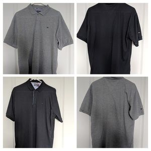 2 Men's Tommy Hilfiger Polo Shirts Size Medium